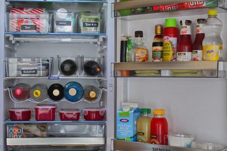 endlich ordentlicher Kühlschrank