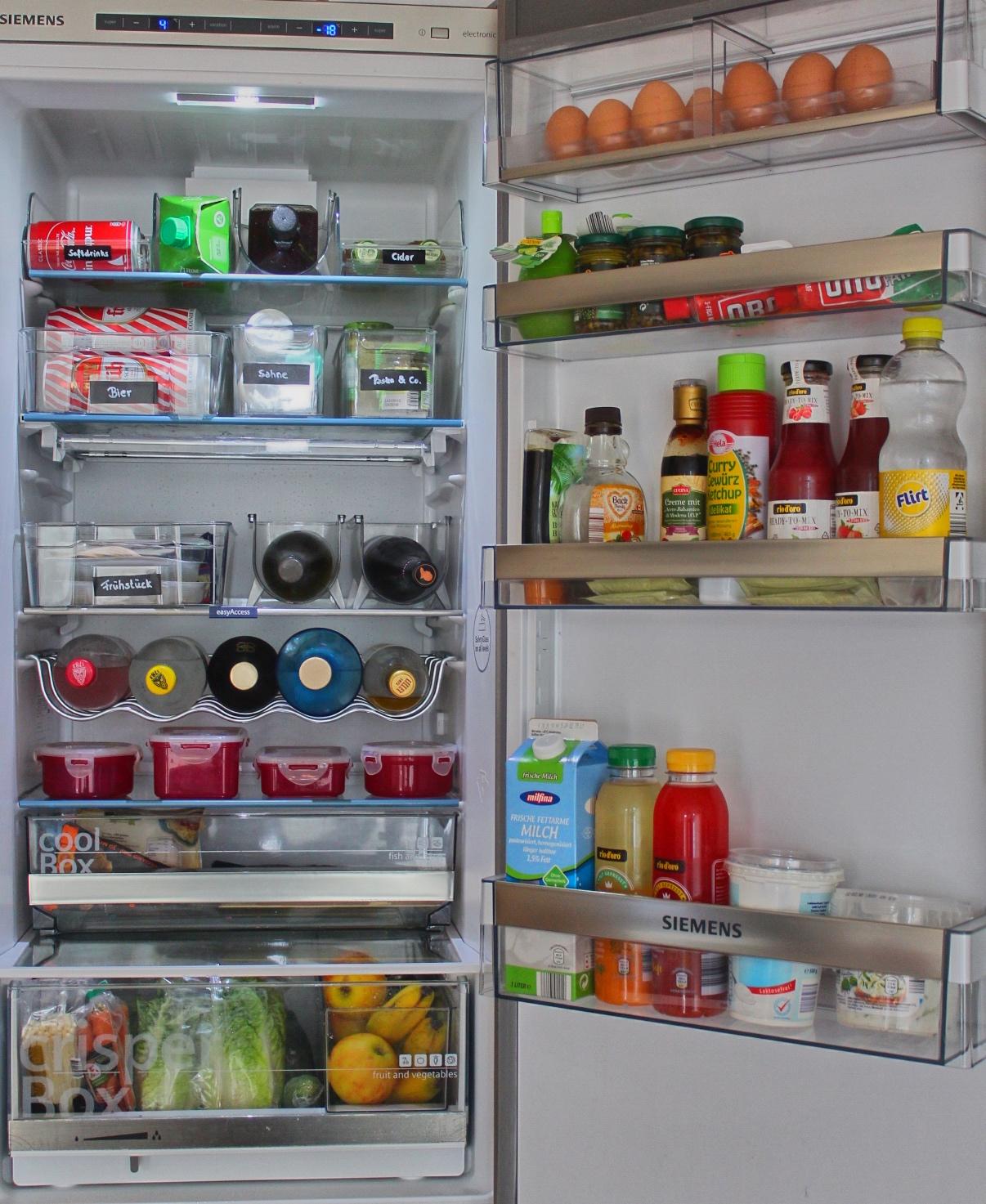Das Kühlschrankmonster zähmen für weit unter 15€ – Organisier-Bar